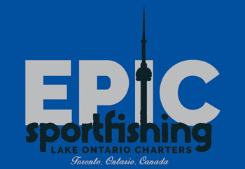Toronto Salmon Fishing Charter in Lake Ontario – Epic Sportfishing Logo